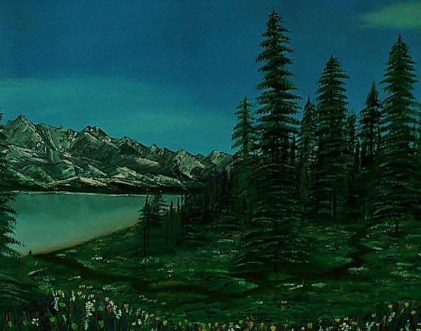 Painting - Alpine Garden by Barbara St Jean