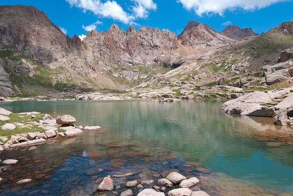 Photograph - Alpine Lake Beneath Sunlight Peak by Cascade Colors