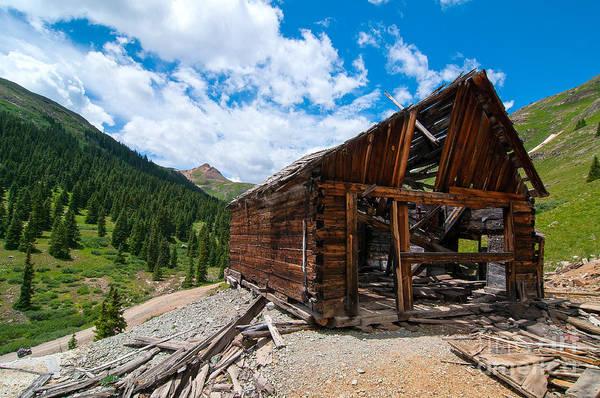 Photograph - Alpine Mine by Steve Stuller