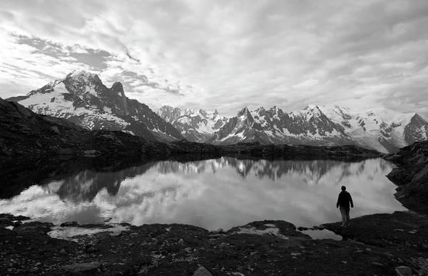 Storm Photograph - Alpine Reflections by Wldavies
