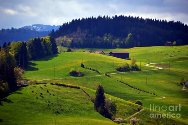 Photograph - Alpine Roads In Switzerland by Susanne Van Hulst