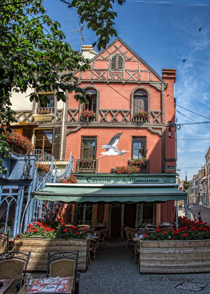 Wall Art - Photograph - Alsacienne Tavern by Keith Hutchings