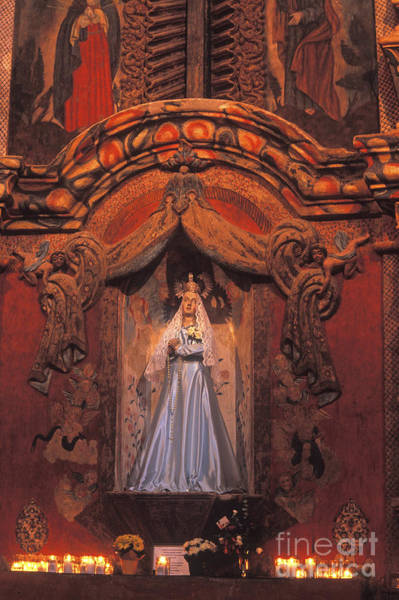 Photograph - Altar And Madonna by Paul W Faust -  Impressions of Light