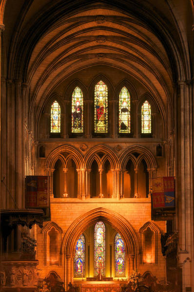 Photograph - Altar Of St. Patrick's Cathedral by Photography  By Sai