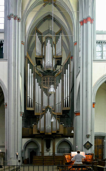 Photograph - Altenberg Abbey Pipe Organ by Jenny Setchell