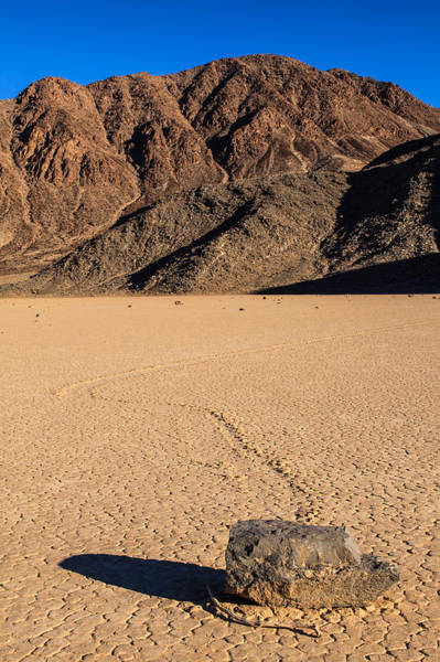 Racetrack Playa Photograph - Altered Course   by James Marvin Phelps