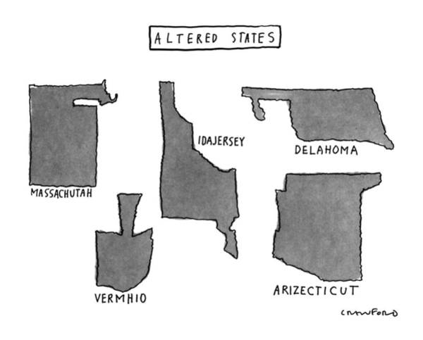 Altered States Art Print