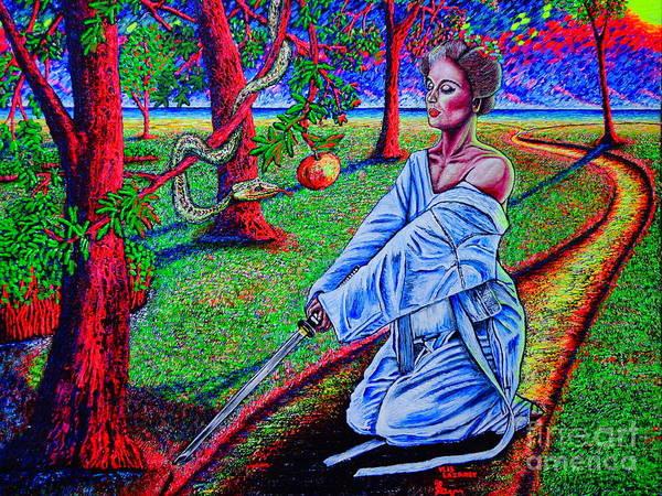 Seducer Painting - Alternative Eve by Viktor Lazarev