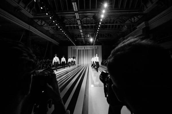 Model A Photograph - Alternative View - London Fashion Week by Ben A. Pruchnie