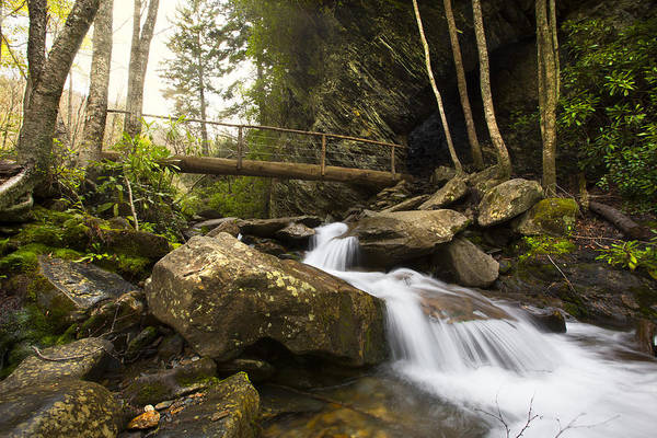 Photograph - Alum Bluff Cave Falls by Debra and Dave Vanderlaan