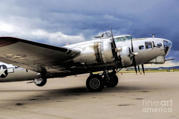Photograph - Aluminum Overcast - All Business by Jon Burch Photography