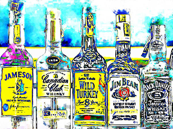 Wall Art - Photograph - Always Carry A Bottle Of Whiskey In Case Of Snakebite 20140917 V6 by Wingsdomain Art and Photography