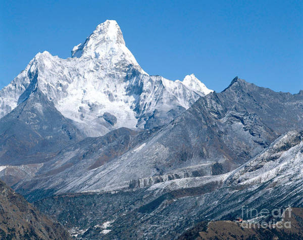 Wall Art - Photograph - Ama Dablam by Dietrich Rose
