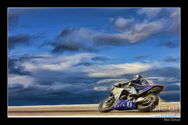 Ama Superbike Josh Jayes Art Print