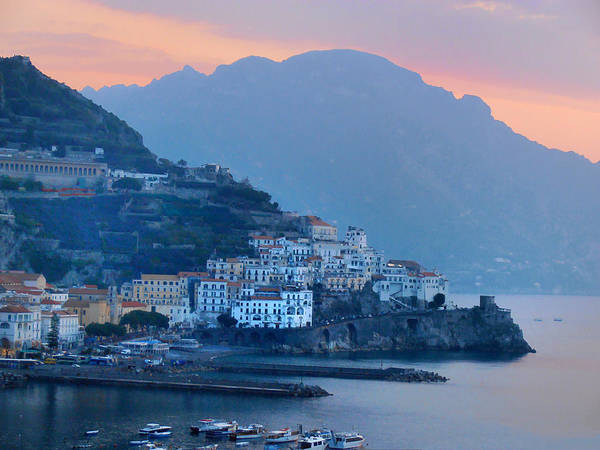 Photograph - Amalfi By The Sea by Bill Cannon
