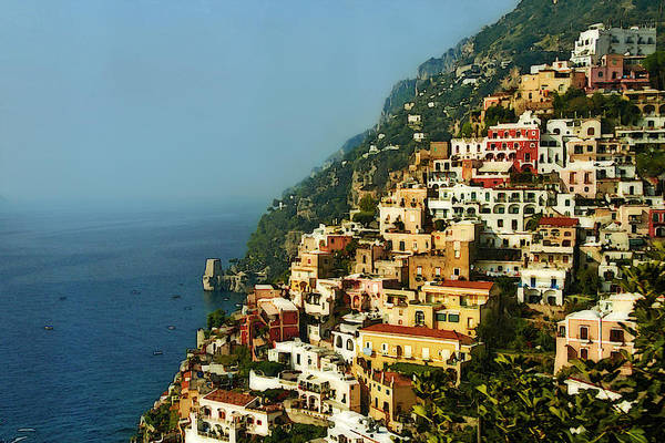 Photograph - Positano Impression by Steven Sparks