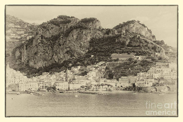 Photograph - Amalfi Coast Vintage by Kate McKenna