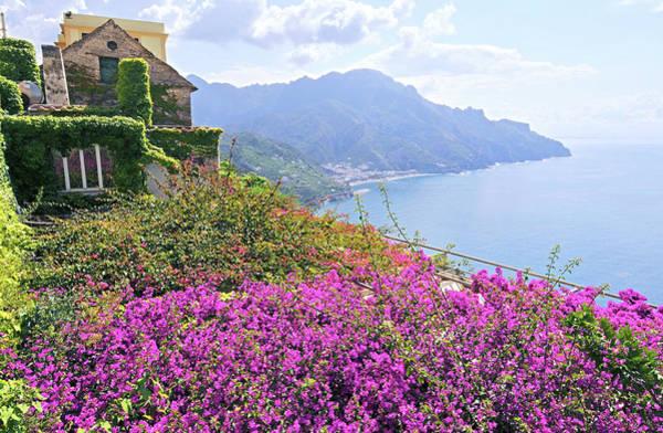 Bougainvillea Photograph - Amalfi Coast Vistas by Digistu