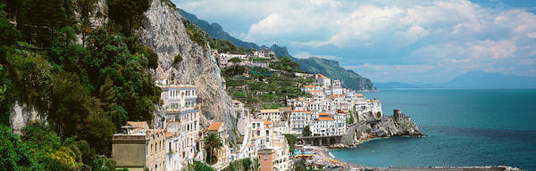 Jagged Photograph - Amalfi, Italy by Panoramic Images