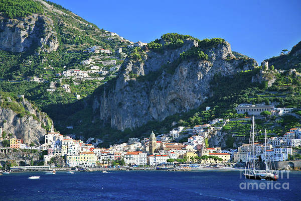 Photograph - Famous Amalfi Village by Kate McKenna