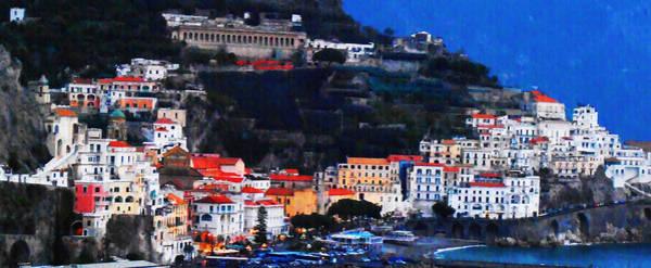 Photograph - Amalfi On The Italian Coast by Bill Cannon