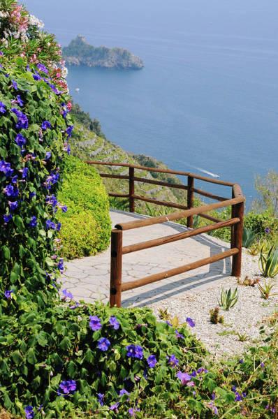 Bougainvillea Photograph - Amalfi Vista by Digistu