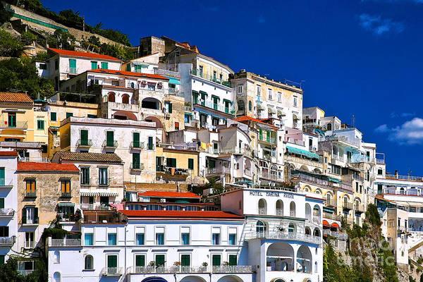Amalfi Architecture Art Print
