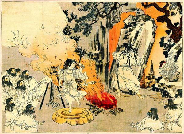 Wall Art - Photograph - Amaterasu's Cave 1880 by Padre Art