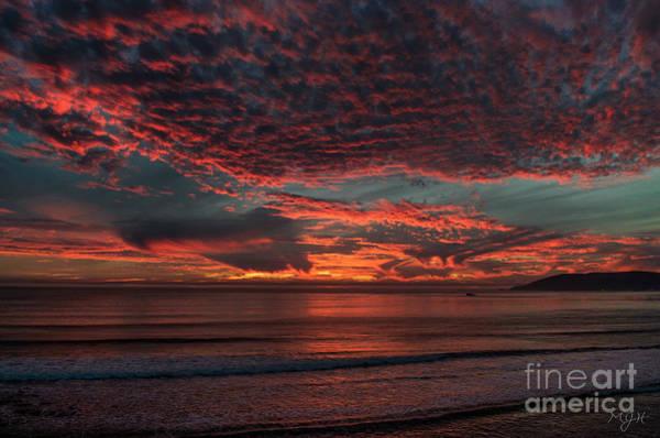 Photograph - Amazing Blazing Sunset by Mathias