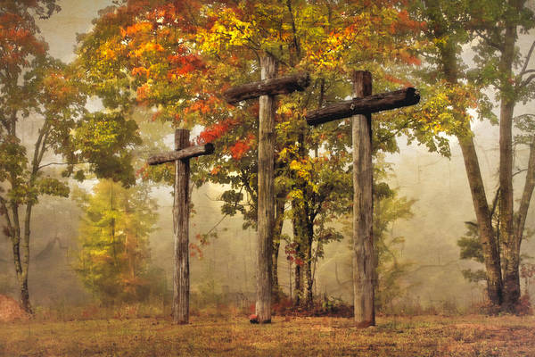 Cemetaries Wall Art - Photograph - Amazing Grace by Debra and Dave Vanderlaan