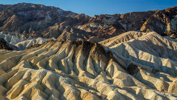 Photograph - Amazing Landscape Of Zabriskie Point In Death Valley by Pierre Leclerc Photography
