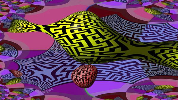 Digital Art - Mandelbrot Maze by Vincent Autenrieb