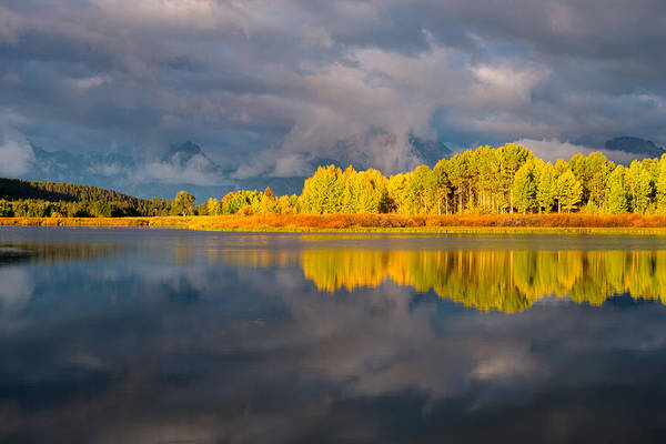 Mount Moran Photograph - Amazing Morning by Joseph Rossbach