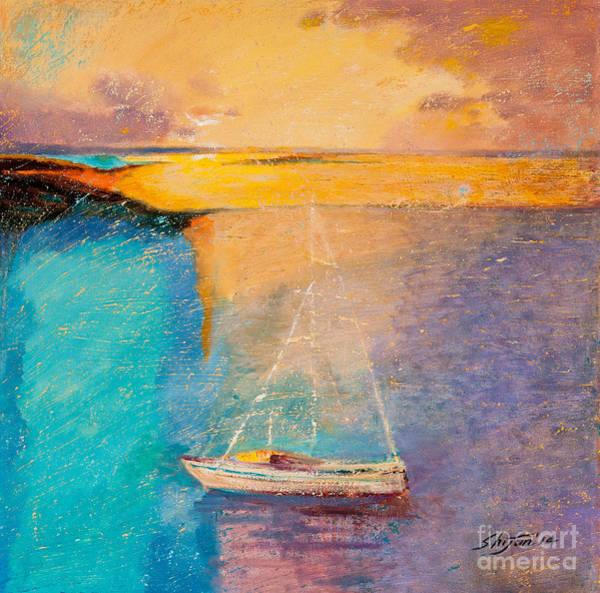 Painting - Amazing Ocean II by Shijun Munns