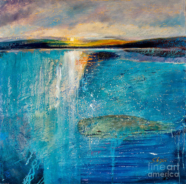 Painting - Amazing Ocean by Shijun Munns