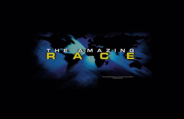 Tv Wall Art - Digital Art - Amazing Race - Faded Globe by Brand A