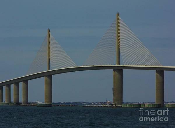Photograph - Amazing Skyway Bridge by D Hackett