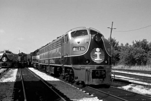 Photograph - Amazing Trainyard by Chris Alberding
