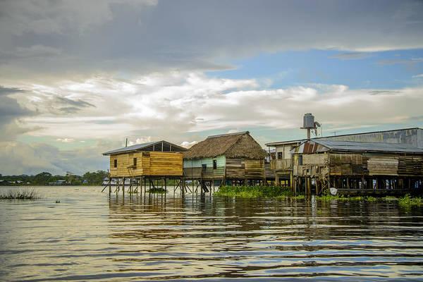 Photograph - Amazon Beach House by Ramona Murdock