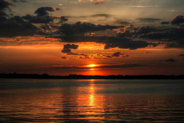 Photograph - Amber Sunset by Pete Federico