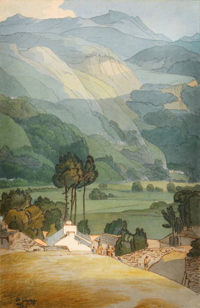 Painting - Ambleside by Celestial Images