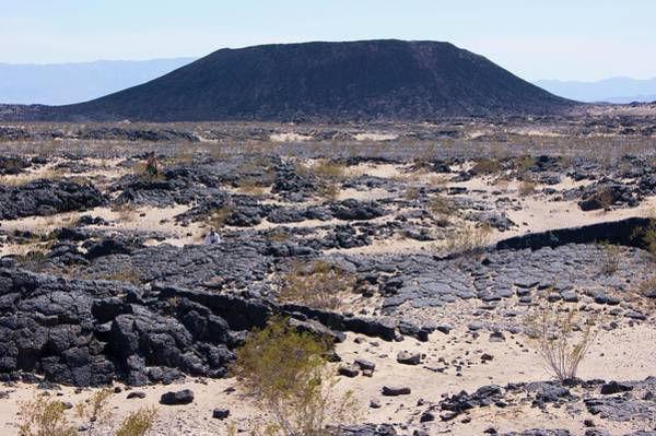 Volcanic Craters Photograph - Amboy Volcanic Crater by Mark Williamson