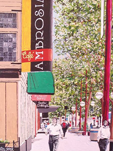 Ambrosia At Eleventh And K Art Print by Paul Guyer
