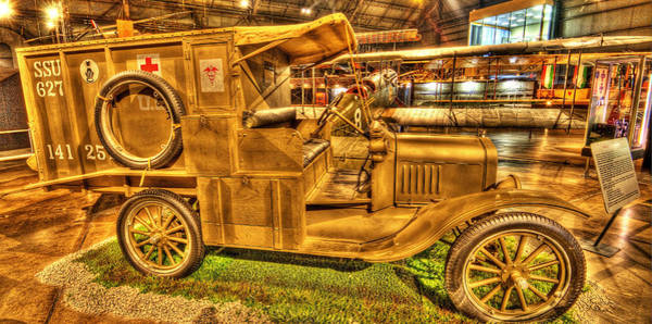 Photograph - Ambulance Of Old by David Dufresne