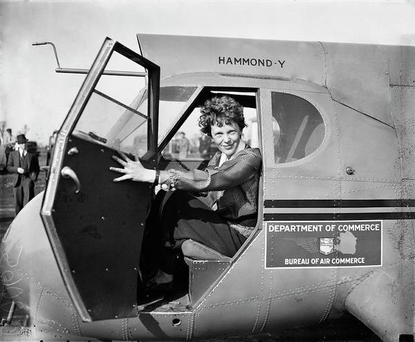 Wall Art - Photograph - Amelia Earhart by Library Of Congress