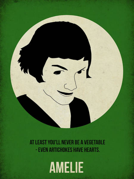 Film Painting - Amelie Poster by Naxart Studio