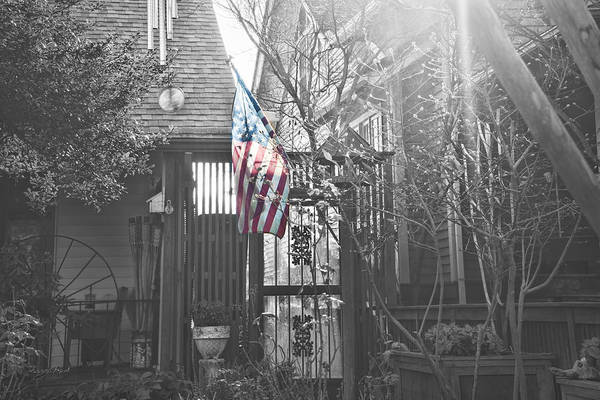 Photograph - America At Home by Sharon Popek
