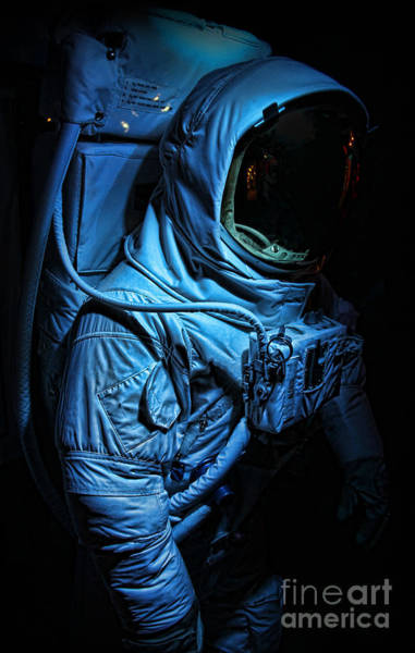 Wall Art - Photograph - American Astronaut - Buzz Aldrin's Suit by Lee Dos Santos