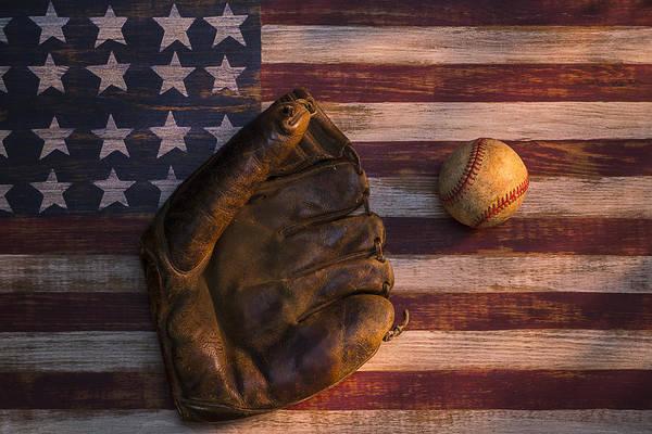 Wall Art - Photograph - American Baseball by Garry Gay