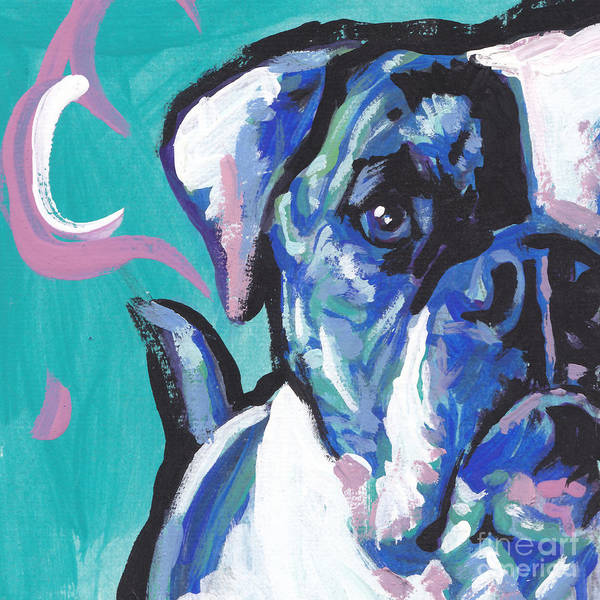 Bully Painting - American Bully Boy by Lea S